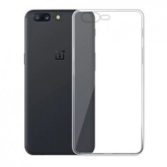 One Plus 5 Back Cover Soft - Transparent