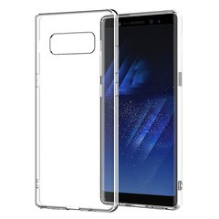 Samsung Galaxy Note 8 Back Cover Soft - Transparent