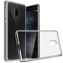 Nokia 3 Back Case Soft - Transparent