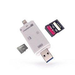Ubon USB i-Flash Drive OTG Micro SD Memory Card Reader for iPhone