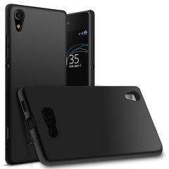 Sony XA1 Ultra Back Cover Soft - Black