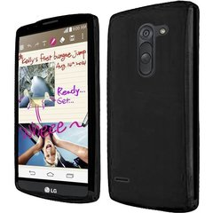 LG G3 Stylus Back Cover Soft - Black