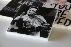 """Johnny Cash: The Birdie"" (Set of 2)"