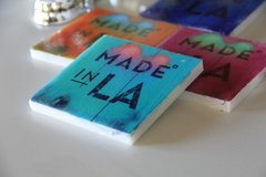 """""""Made In LA"""" (Set of 4)"""