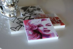 """Marilyn In POP"" (Set of 2)"