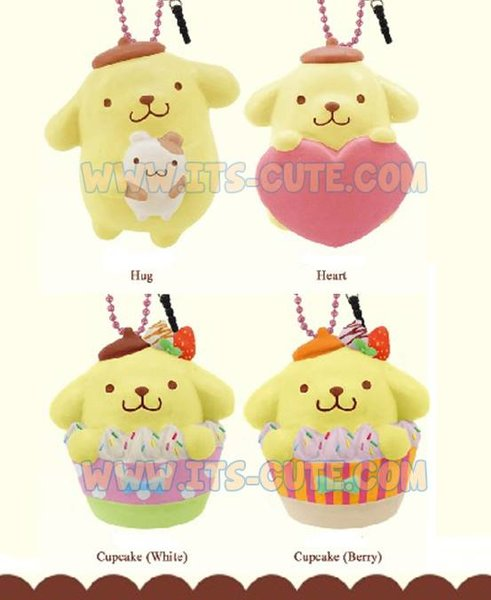 Pompompurin Squishy Bun : Pom Pom Purin Squishy Mascot Kawaii, Squishy, Apparel, Toys, DIY Candy Kits, Resin Molds, Shop