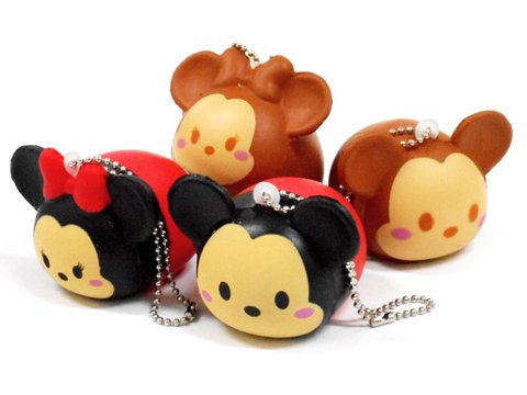 Scented Tsum Tsum Mickey & Minnie Mouse Squishy. Kawaii, Squishy, Apparel, Toys, DIY Candy ...