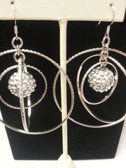 Wedding Earring Sphere