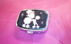 Fluff Metal Pill box-Pixie Poodle