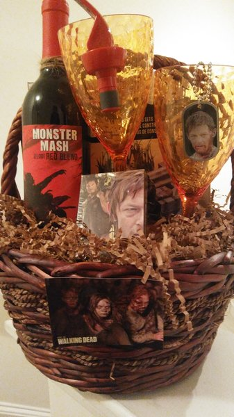 Walking Dead Gift Basket Dylan S Unique Gifts Amp Weddings