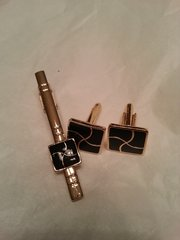 Cufflinks with Tie Pin