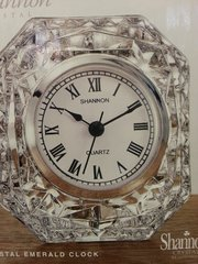 Wedding Crystal Emerald Clock