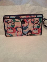 Coach IKAT Zippy Wallet #F49491