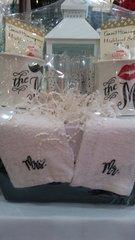 Gift Basket Wedding Basket with Mugs