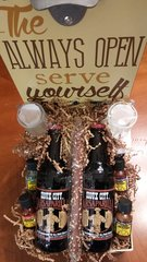 Gift Basket Bottles Open Up