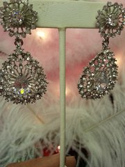Wedding Earring Rhinestone Chandelier