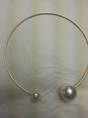 Jewelry Necklace Pearl Chocker