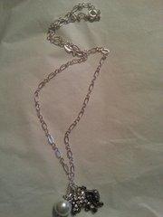 Jewelry Necklace Elephant with Rhinestones