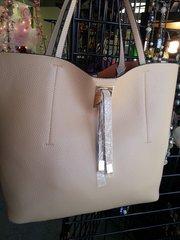 Handbag Tan Tassel Tote