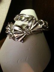Jewelry Bracelet Silver with Bow