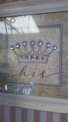 His Crown Picture Framed Art