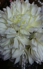 Wedding Bouquet Spider Peony with Pearl Small