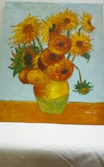 "Oil Painting ""Sunflower"""