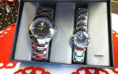 "His & Hers Watch Set ""Silver"""