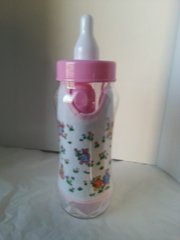 Gift Basket Baby Bottle Girl Pink