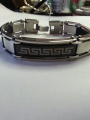 Bracelet Tribal Logo 316L Stainless Steel Link Braclet