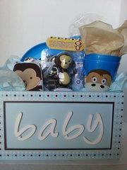 Gift Basket Baby Boy Basket