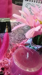 Gift Basket All About Pink Coloring