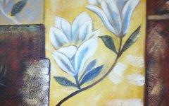 """Oil Painting """"Gardenia"""""""