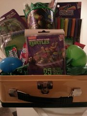 Gift Basket Teenage Mutant Ninja Turtles A