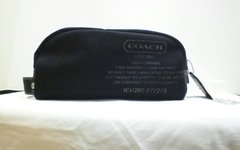 Coach Mens Heritage Canvas Travel Bag #F77276