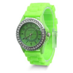 Watch - Silicone Lime Green