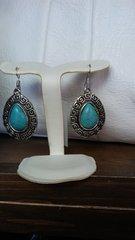 Jewelry Turquoise Teardrop Earrings