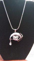 Jewelry Necklace Teardrop Eye