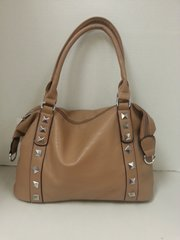 Handbag - Deep Tan Stud