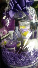 Gift Basket Purple Is In