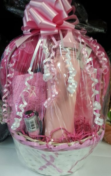 Gift Basket Breast Cancer Awareness Basket Dylan S
