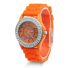 Watch - Silicone Orange