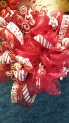 Holiday Wreath Peppermint Candy