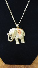 Jewelry Necklace Elephant with gems