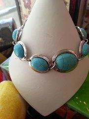 Jewelry Bracelet Turquoise Link
