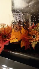 Holiday Centerpiece Fall Candle Ring