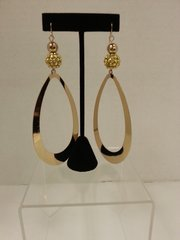 Jewelry Earrings Extra Long Gold Drop