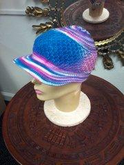 Hand Knit Tie Dye Hat