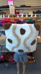 Fur Skin Alpaca Pillow Sham, Designed