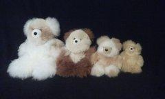 Mini Alpaca Teddy Bear